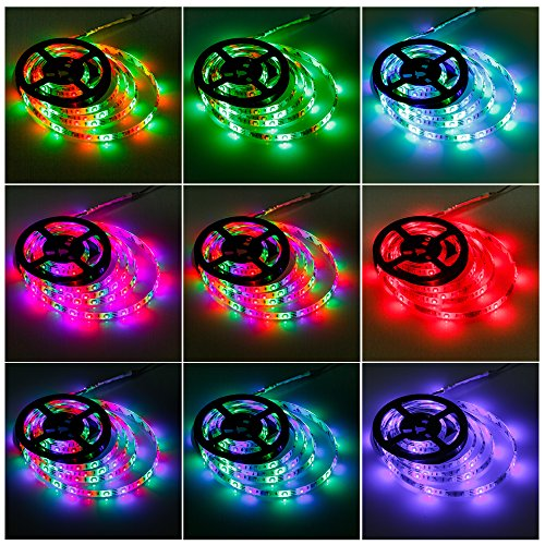 Geekeep led strip lights battery powered waterproof rope import it all geekeep led strip lights battery powered waterproof rope lights led light strips smd 3528 led ribbon aloadofball Image collections
