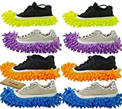 Multi Function Chenille Fibre Washable Dust Mop Slippers Floor Cleaning ShoesMaterial: Chenille fibre / microfiberFeatures: It's very easy to clean ,you can liste music , Play mobile phones or read books while cleaning and without kneeling or...