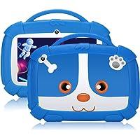Qiamoo tablet dziecięcy, 7 cali, Android 9.0, tablet dziecięcy, 1 GB + 16 GB dla dzieci, Quad Core CPU 1,5 GHz, tablet…