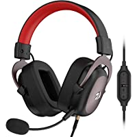 Redragon H510 Zeus Wired Gaming Headset - 7.1 Surround Sound - Memory Foam Ear Pads - 53MM Drivers - Detachable…