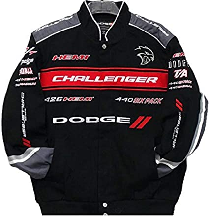 Dodge Challenger Pit Shirt Mens Small Dodge Racing Car Embroidered Logos