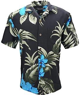 16b8f13ec Yellow Hibiscus Hawaiian Shirt at Amazon Men's Clothing store ...