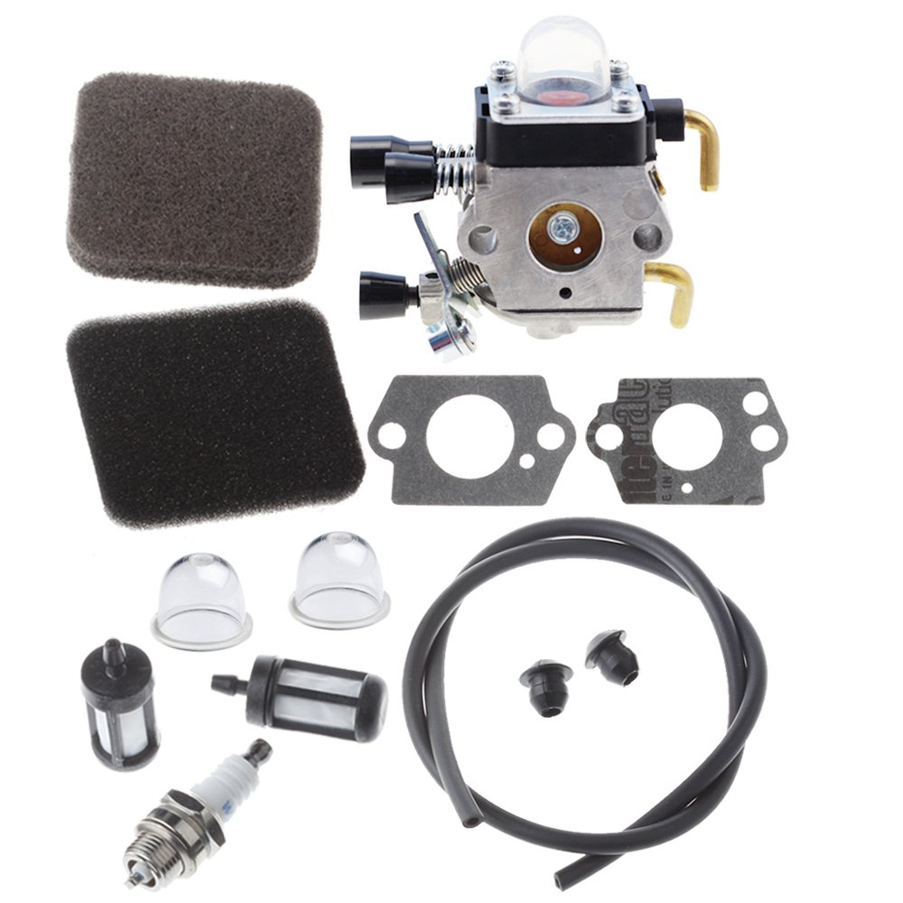HIPA Carburetor with Air Filter for Stihl FS80 FS85 FS75 HS75 HS80 HS85 HL75 HL75K FH75 HT70 HT75 KM80 KM85 KM85R SP80 SP85 FC75 FC85 Edger Hedge Trimmer by HIPA