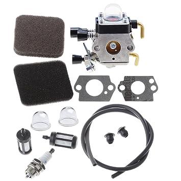 HIPA carburador con filtro de aire para desbrozadora Stihl HS80 ...
