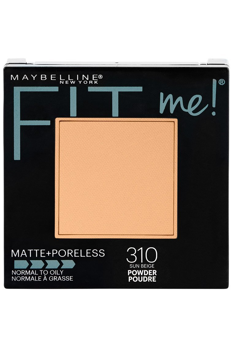 Maybelline New York Fit Me Matte + Poreless Powder Makeup, Natural Buff, 0.29 oz. Maybelline Cosmetics FMANTISHN2