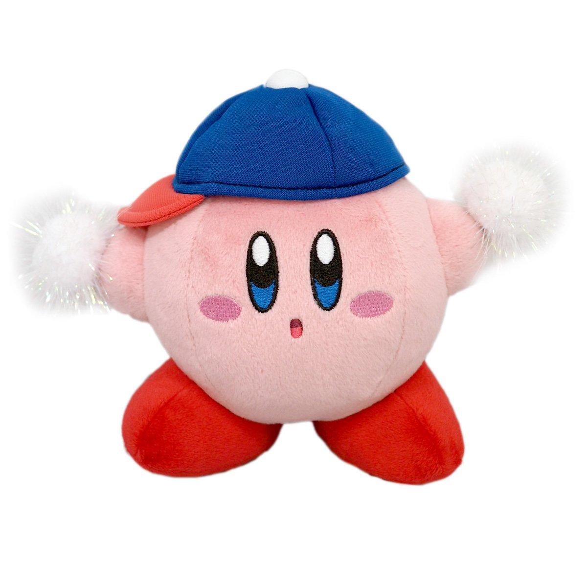 Amazon.com: Sanei Star Kirby Plush Toy Doll KP25 Esper Kirby ...