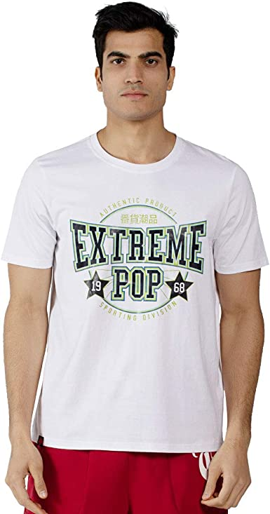 Extreme Pop Camisetas para Hombre Camisa de Manga Corta con ...