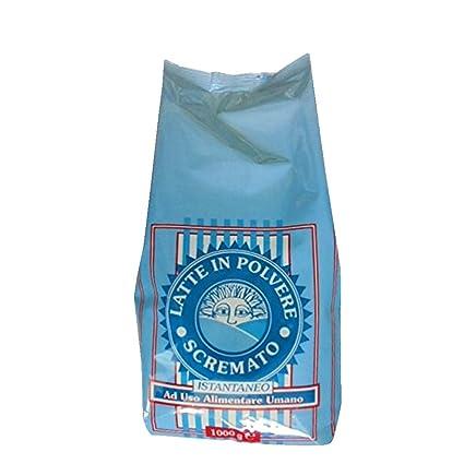 2 kg Leche de polvo Milk Powder scremato ad uso alimenticio soluble liofilizzato Milk Powder: Amazon.es: Hogar