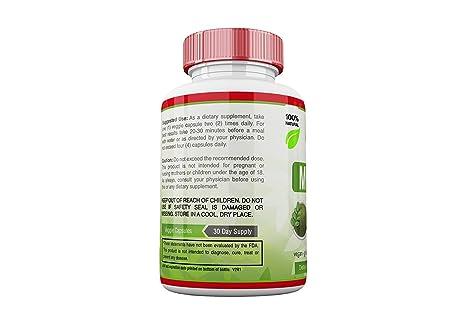 Amazon.com: Pastillas De Moringa Para Adelgazar Natural Organico - Fuente de Vitaminas, Minerals Y Proteina Completa - 60 Capsulas: Health & Personal Care