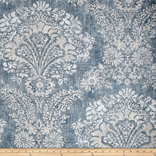 Magnolia Home Fashions Hamilton Denim Fabric by The Yard (Home Fabrics Magnolia)