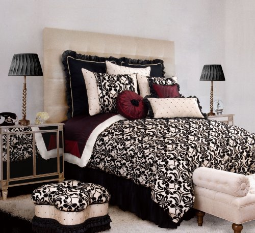 Jennifer Taylor 10 Pcs Comforter Set, Cal King