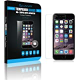 iPhone 7 Tempered Glass Screen Protector, LUVVITT TEMPERED GLASS Screen Protector for Apple iPhone 7 - Crystal Clear