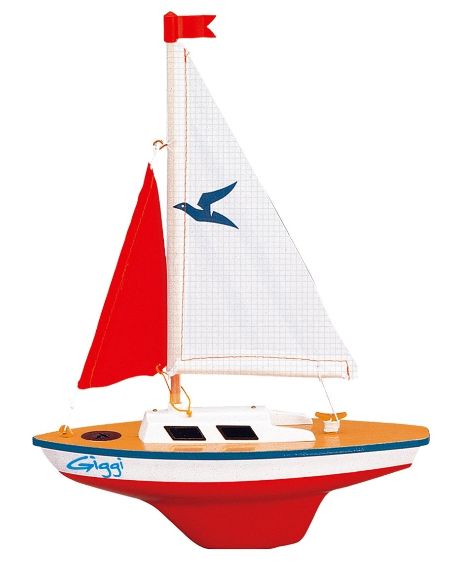 Modellino Barca a Velo Gunther