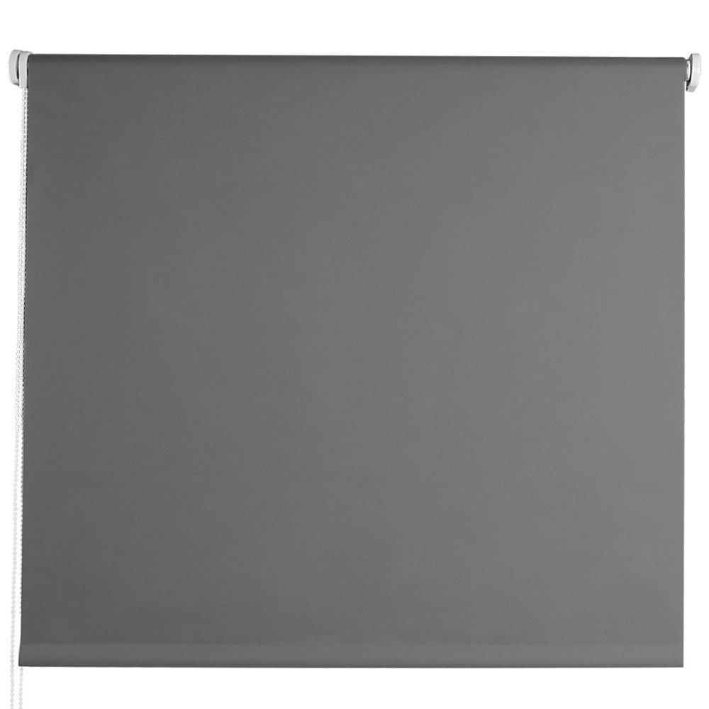 TAILLE ET COULEUR AU CHOIX Gris 40 x 100 cm r/éfl/échissant les rayons du soleil verso enduit Store enrouleur occultant Jago aluminium-argent plastique et aluminium