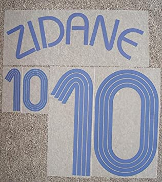 514f64b6f29 France Transfer Away Adidas Shirt Zinedine Zidane World Cup Final 2006 New:  Amazon.co.uk: Sports & Outdoors