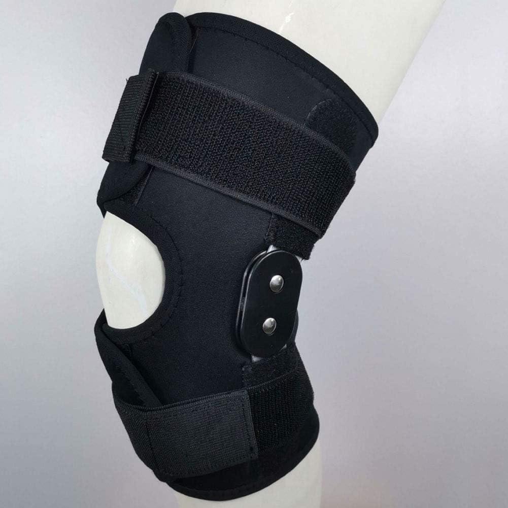 MOXIN Rodillera, Profesional Rodillera con Bisagras, Órtesis De Rodilla Férula De Rodilla, Lesión del Ligamento Ortopédico, Protección De Seguridad