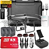 DJI Phantom 4 PRO Obsidian Executive Kit V2.0 w/ Nanuk 950 Wheeled Case, 3 Batteries, Thor Charger, CF Props & Guards, Filters, 64GB Card & More