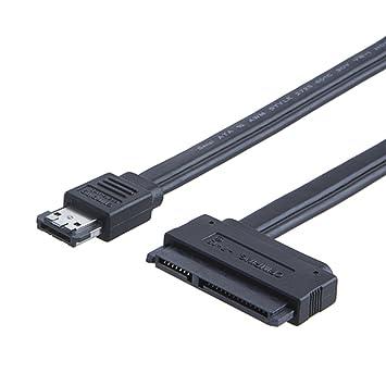 CableCreation Poder eSATA (eSATA) a Sata 22 Pin unidad de ...