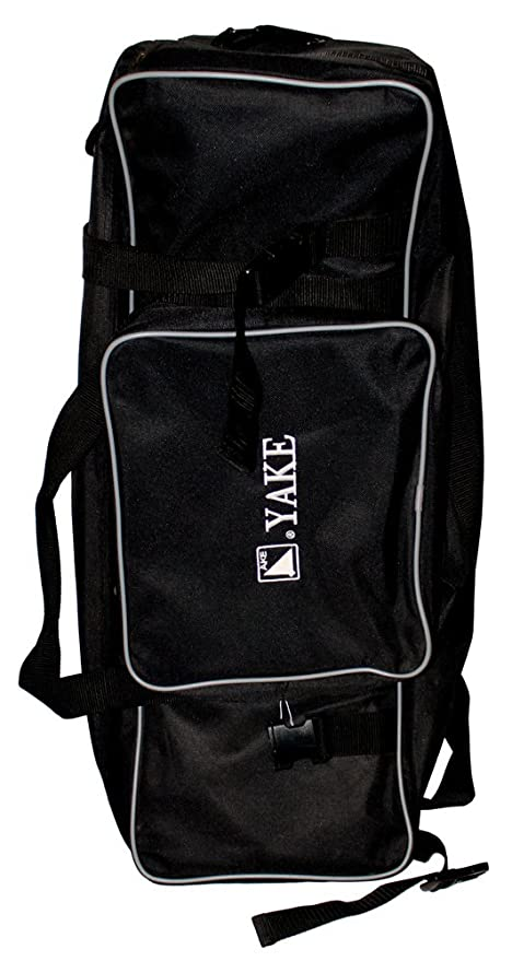fbd695699cbd Amazon.com   Yake Double-Zipper Duffle Bag with Dividers - Black ...