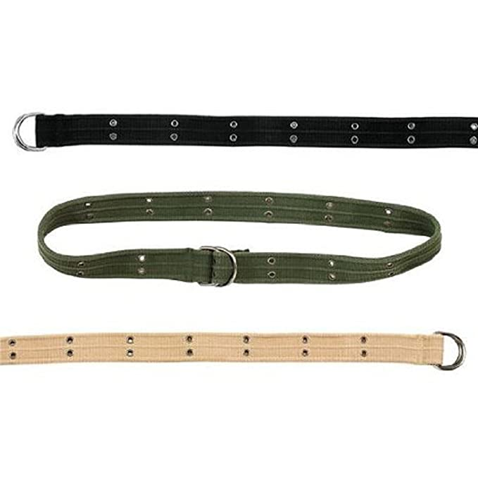 Amazon.com  Vintage Military D-Ring Belts 678c5fca2aa