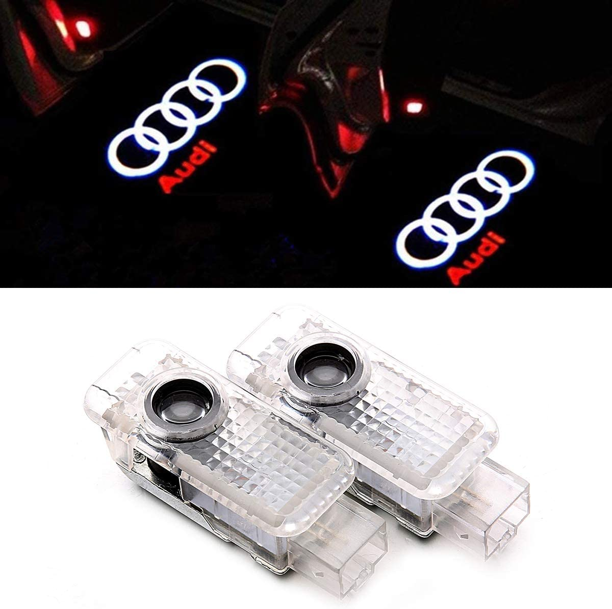 Car Door LED Lighting Entry Ghost Shadow Projector For Audio