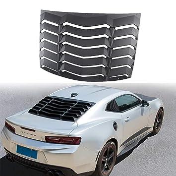 Chevrolet Auto Parts >> Amazon Com Dixuan Auto Parts Rear Window Louvers Black Abs