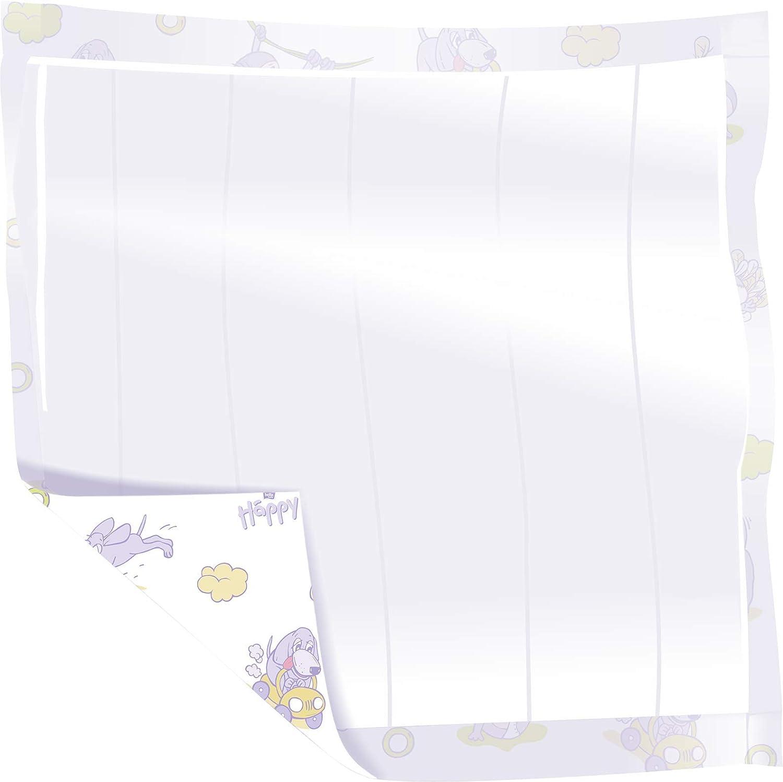 bella baby Happy Wickelunterlagen 40x60 cm ideal f/ür unterwegs 2x30 St/ück