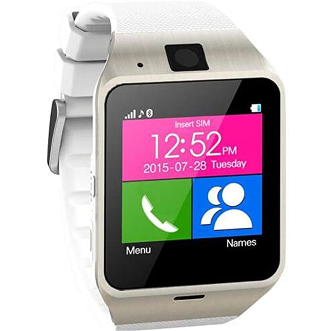 Smartwatch, S GV18 inteligente Bluetooth 3.0 NFC impermeable reloj ...