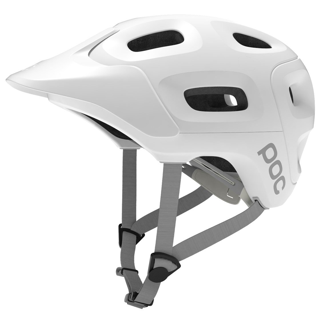POC Trabec Bike Helmet, Hydrogen White, Medium/Large by POC