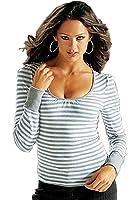 Ringelshirt Damen T-Shirt Ringel-Shirt tailliert in 2 Farben
