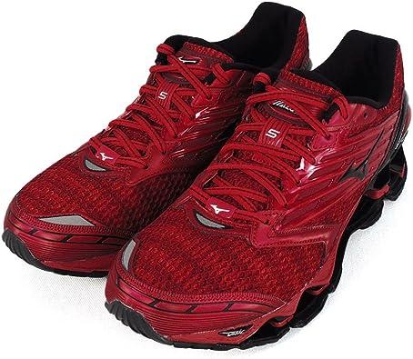 Mizuno Wave Prophecy 5 - Zapatillas de running de competición para hombre, rojo, 41 EU: Amazon.es: Deportes y aire libre
