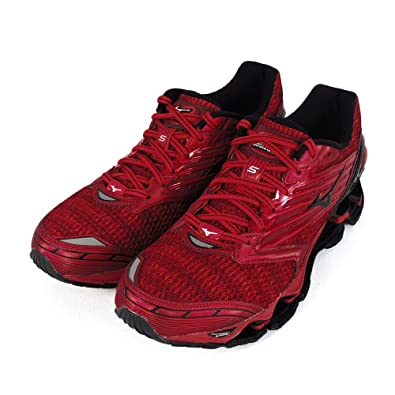 online retailer cb6a7 3cb62 Mizuno Wave Prophecy 2 Running Shoes, Men's Competition, red ...