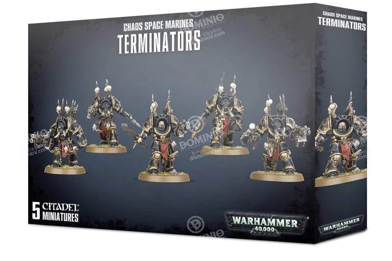 Warhammer 40,000 Chaos Space Marines Terminators GWS 40k 43-19 by Games Workshop (Image #1)