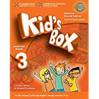 Kid's Box Level 3 Activity Book with CD ROM and My Home Booklet Updated English for Spanish Speakers Second Edition…