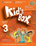 Kid's Box Level 3 Activity Book with CD ROM and My Home Booklet Updated English for Spanish Speakers Second Edition - 9788490369326