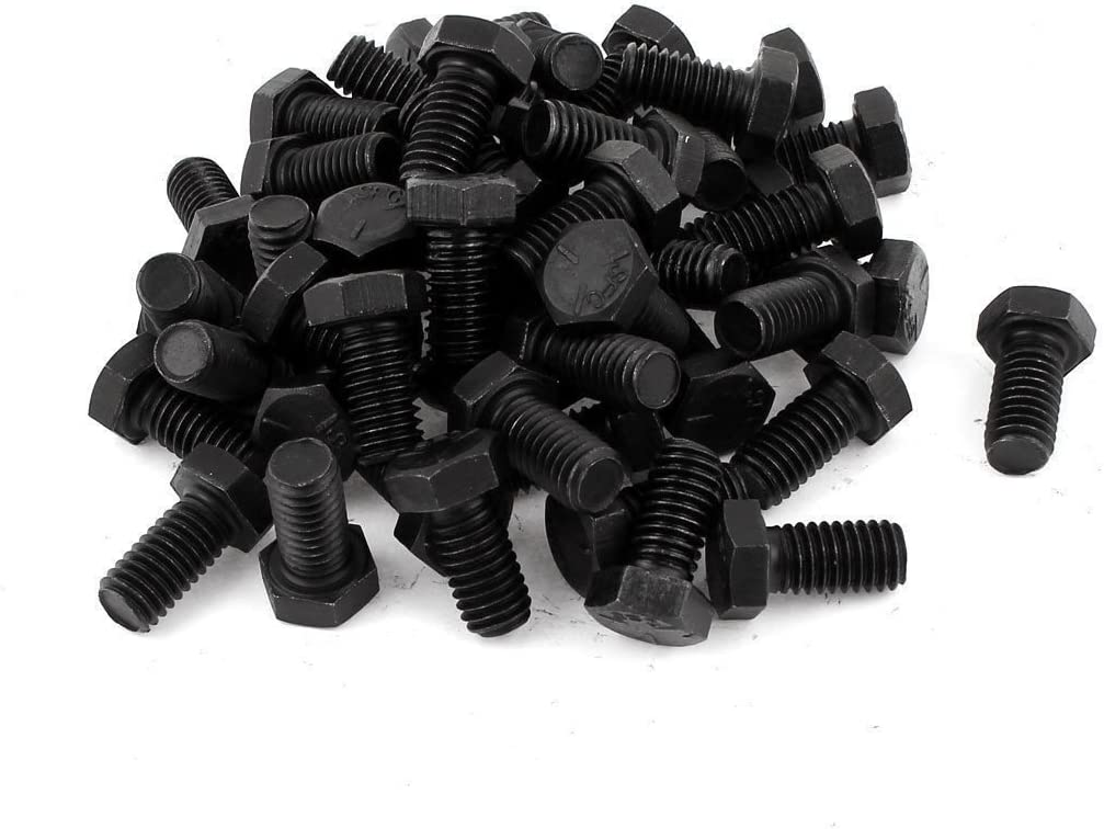 Black Oxide Stainless Steel Button Head Screw 3//8-16 x 1 Qty 25