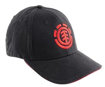 Element Logo - Gorra de béisbol, color negro: Amazon.es: Deportes ...