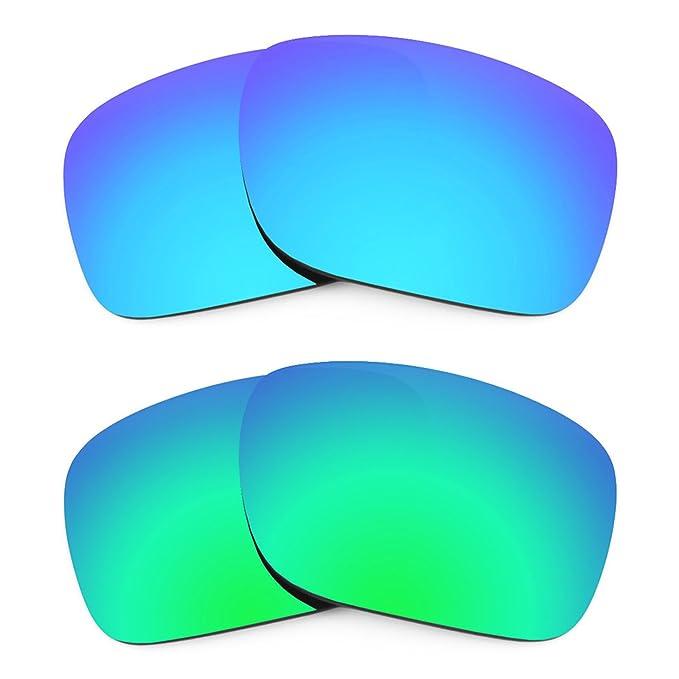 Revant Combo de 2 pares de lentes polarizados, de reemplazo, para Oakley Holbrook K006
