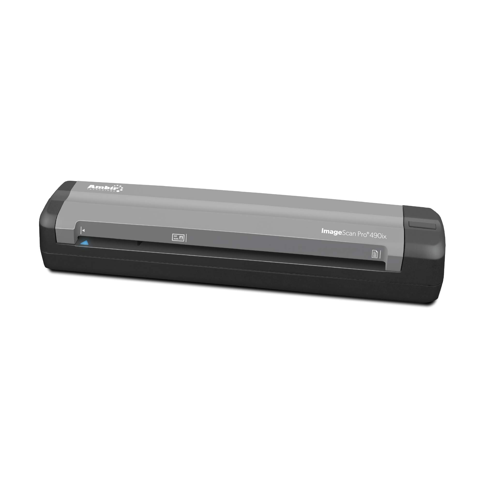 Ambir ImageScan Pro 490ix Duplex Document Scanner with AmbirScan Business Card Reader