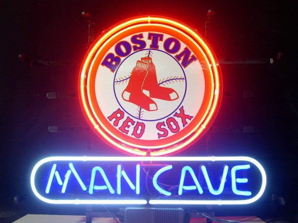 QUEEN SENSE 24x24 Chicago White Soxx Neon Sign Light Lamp HD Vivid Printing Tech Beer Pub Bar Handmade Man Cave HV17