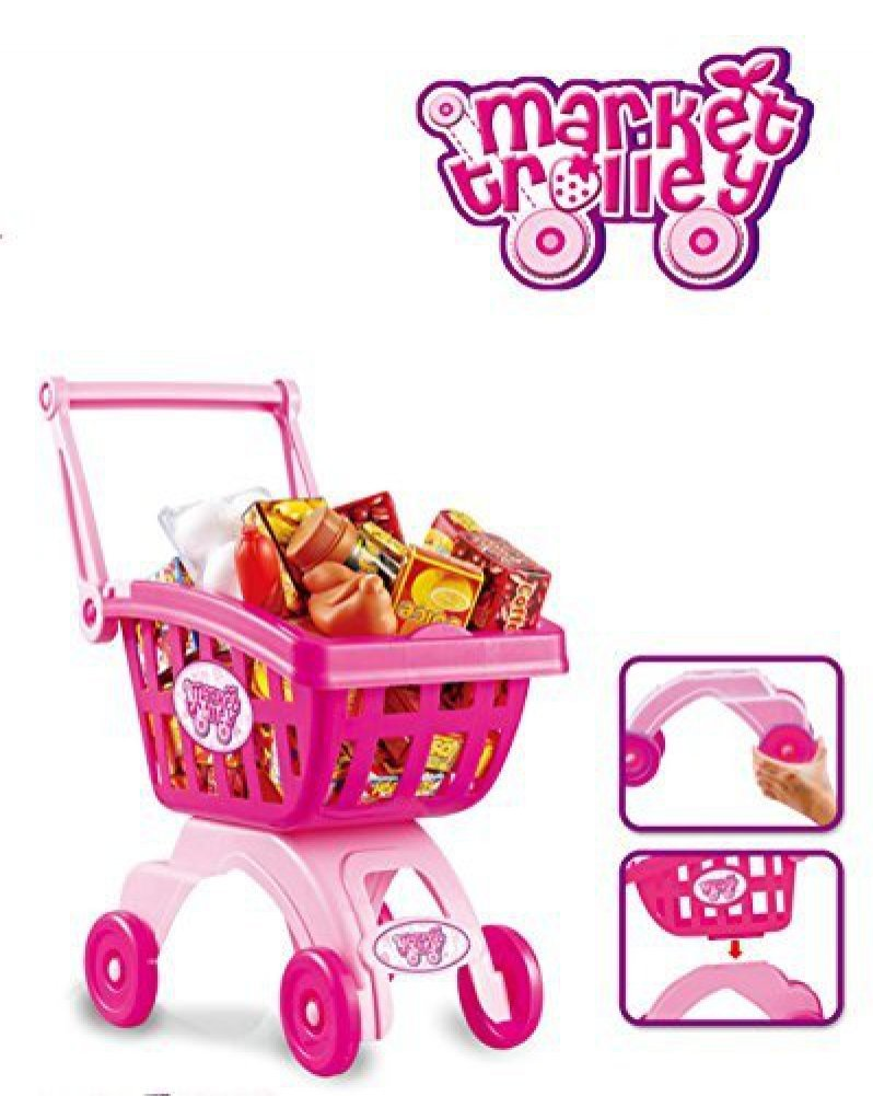 Amazon.com: Holy Stone Mini Shopping Cart Pretend Play Toy Color ...
