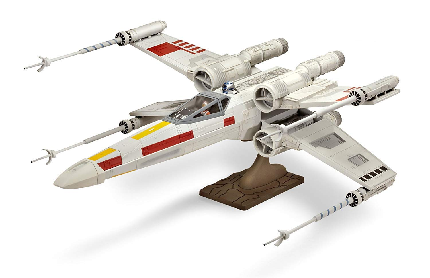 Revell 85-1894 Star Wars X-Wing Fighter 1//30 Scale Model Kit w//Figures