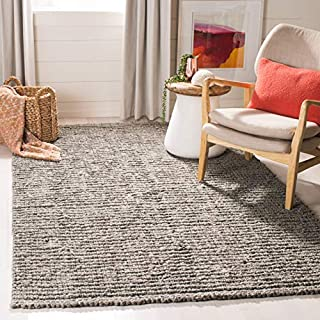 Safavieh Natural Fiber Collection NF447G Hand Woven Light Grey Jute Area Rug (3' x 5') (B00CMHARMU) | Amazon price tracker / tracking, Amazon price history charts, Amazon price watches, Amazon price drop alerts