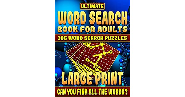 Word Search Book: Ultimate Word Search Books for Adults