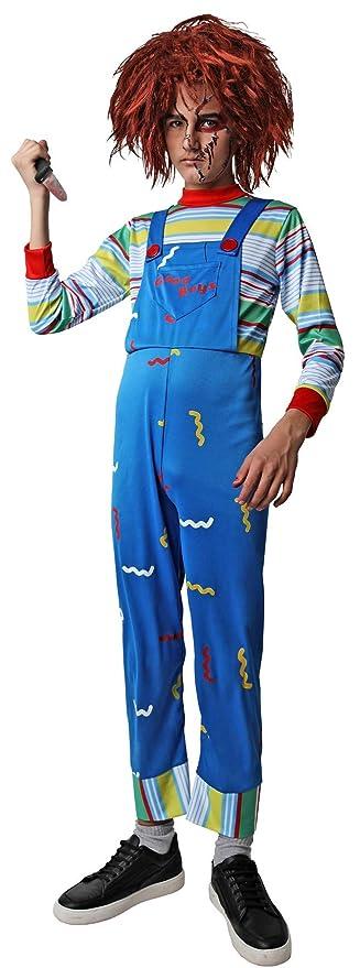 Costumizate! Disfraz de Muñeco Asesino para niños talla10 a 12 ...