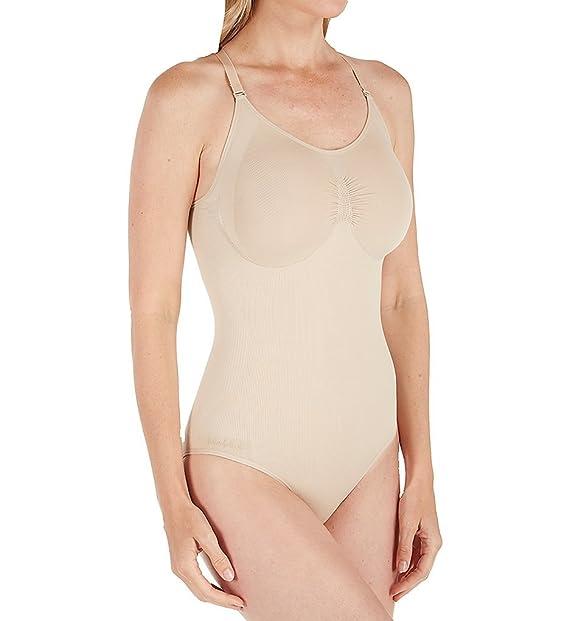 29c4721edb MeMoi SlimMe (6 Hour Sale) - Body Suit With Brief Shaper plus size at  Amazon Women s Clothing store  Shapewear Bodysuits