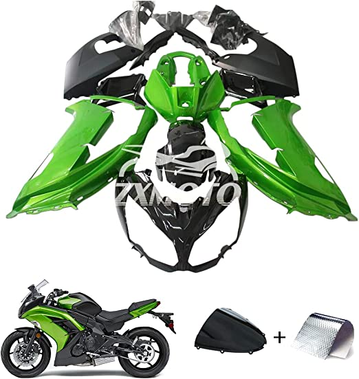 19 Pcs ZXMT Motorcycle Fairing Kit for Kawasaki Ninja 650 EX650 ...