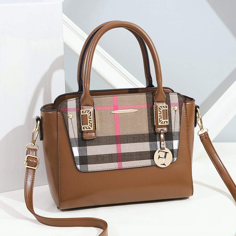 Sxuefang Handtaschen Handtaschen Handtaschen Damen Temperament Handtasche Mode schräge Schulter Tasche großvolumigen Paket 28  14  22 cm B07GTK1SZY Henkeltaschen Adoptieren 79bb31