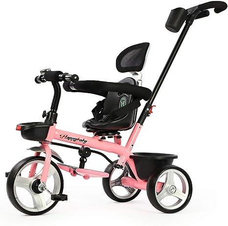 SSLC Niños Triciclo,Bicicleta Triciclo Infantil para bebés a ...