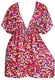 Best La Leela Bottom Covers - LA LEELA Beachwear Printed Women's Tunic Cover Up Review